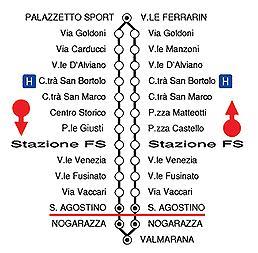 mappa linea 4